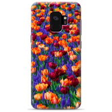 "Samsung Galaxy a6 plus 2018 Unique Silicone Case 1.0 mm ""u-case Airskin Nature 2 design"""