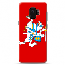 "Samsung Galaxy a6 plus 2018 silicone phone case with unique design 1.0 mm ""u-case Airskin Vytis design"""
