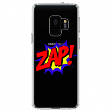 "Samsung Galaxy a6 plus 2018 silicone phone case with unique design 1.0 mm ""u-case airskin ZAP design"""