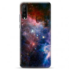 "Samsung Galaxy A7 2018 Unique Silicone Case 1.0 mm ""u-case Airskin Space 2 design"""