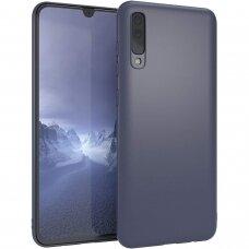 Samsung galaxy A70 Cover Liquid Silicone Dark Blue