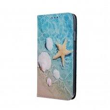 "samsung galaxy a70 Pu leather flip case ""Smart Trendy"" 'holiday ocean'"