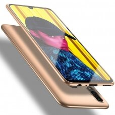 """Samsung galaxy a70 SILICONE MATTE CASE """"X-LEVEL GUARDIAN"""" 0,6 MM gold"""