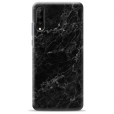 "Samsung Galaxy A70 Unique Silicone Case 1.0 mm ""u-case Airskin Marble 4 design"""