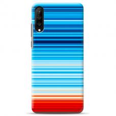 "Samsung Galaxy A70 silicone phone case with unique design 1.0 mm ""u-case airskin Pattern 3 design"""