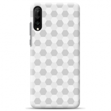 "Samsung Galaxy A70 silicone phone case with unique design 1.0 mm ""u-case Airskin Pattern 5 design"""