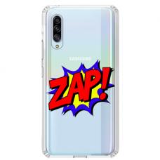 "Samsung Galaxy A70 Unique Silicone Case 1.0 mm ""u-case airskin ZAP design"""