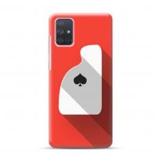 "Samsung Galaxy A71 Unique Silicone Case 1.0 mm ""u-case Airskin Ace design"""