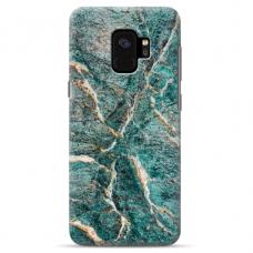 "Samsung Galaxy a8 2018 silicone phone case with unique design 1.0 mm ""u-case Airskin Marble 1 design"""