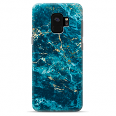 "Samsung Galaxy a8 2018 silicone phone case with unique design 1.0 mm ""u-case Airskin Marble 2 design"""