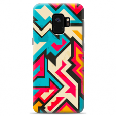 "Samsung Galaxy a8 2018 silicone phone case with unique design 1.0 mm ""u-case Airskin Pattern 7 design"""