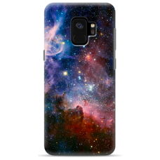 "Samsung Galaxy a8 2018 silicone phone case with unique design 1.0 mm ""u-case Airskin Space 2 design"""