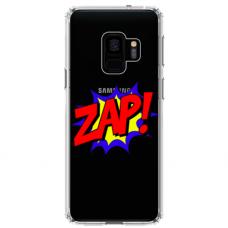 "Samsung Galaxy a8 2018 silicone phone case with unique design 1.0 mm ""u-case airskin ZAP design"""