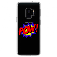 "Samsung Galaxy a8 2018 silicone phone case with unique design 1.0 mm ""u-case airskin POW design"""
