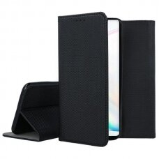 samsung galaxy note 10 Eco leather flip case Mocco Smart Magnet black