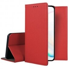 samsung galaxy note 10 Eco leather flip case Mocco Smart Magnet red
