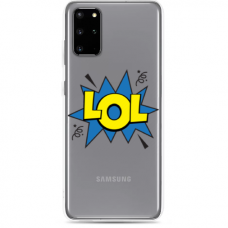"Samsung Galaxy Note 10 Lite silicone phone case with unique design 1.0 mm ""u-case Airskin LOL design"""