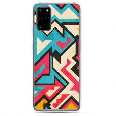"Samsung Galaxy Note 10 Lite silicone phone case with unique design 1.0 mm ""u-case Airskin Pattern 7 design"""