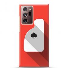 """Samsung Galaxy Note 20 ultra Unique Silicone Case 1.0 mm """"u-case Airskin Ace design"""""""