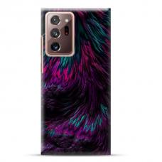 "Samsung Galaxy Note 20 ultra Unique Silicone Case 1.0 mm ""u-case Airskin Feather design"""