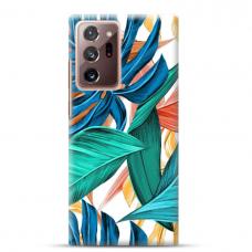 "Samsung Galaxy Note 20 ultra Unique Silicone Case 1.0 mm ""u-case Airskin Leaves 1 design"""