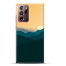 "Samsung Galaxy Note 20 ultra Unique Silicone Case 1.0 mm ""u-case Airskin Mountains 2 design"""