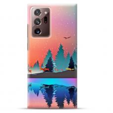 """Samsung Galaxy Note 20 ultra Unique Silicone Case 1.0 mm """"u-case Airskin Nature 5 design"""""""