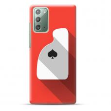 "Samsung Galaxy Note 20 Unique Silicone Case 1.0 mm ""u-case Airskin Ace design"""