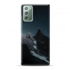 "Samsung Galaxy Note 20 Unique Silicone Case 1.0 mm ""u-case Airskin Mountains 1 design"""