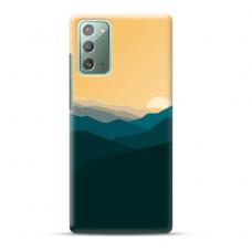 "Samsung Galaxy Note 20 Unique Silicone Case 1.0 mm ""u-case Airskin Mountains 2 design"""