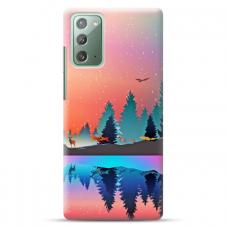 "Samsung Galaxy Note 20 Unique Silicone Case 1.0 mm ""u-case Airskin Nature 5 design"""