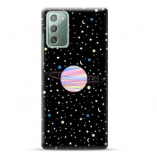 "Samsung Galaxy Note 20 Unique Silicone Case 1.0 mm ""u-case Airskin Planet design"""