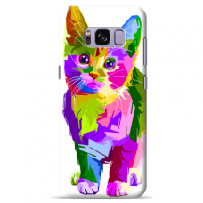 "Samsung Galaxy note 8 silicone phone case with unique design 1.0 mm ""u-case Airskin Kitty design"""
