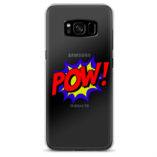 "Samsung Galaxy note 8 silicone phone case with unique design 1.0 mm ""u-case airskin POW design"""