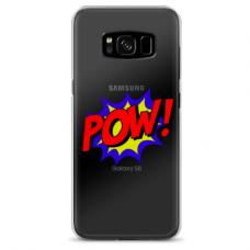 "Samsung Galaxy note 8 Unique Silicone Case 1.0 mm 1.0 mm ""u-case airskin POW design"""