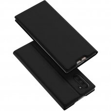"samsung galaxy s10 Flip case smooth PU Leather ""Dux Ducis Skin Pro""  black"