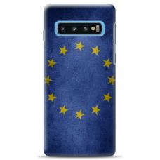 "Samsung Galaxy S10 Plus Unique Silicone Case 1.0 mm ""u-case Airskin EU design"""