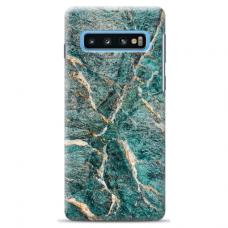 "Samsung Galaxy S10 Plus Unique Silicone Case 1.0 mm ""u-case Airskin Marble 1 design"""