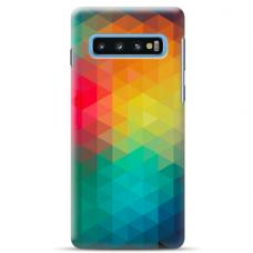 "Samsung Galaxy S10 Plus Unique Silicone Case 1.0 mm ""u-case Airskin Pattern 3 design"""