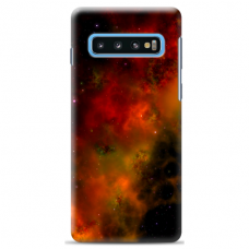 "Samsung Galaxy S10 Plus Unique Silicone Case 1.0 mm ""u-case Airskin Space 1 design"""