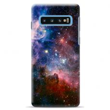 "Samsung Galaxy S10 Plus Unique Silicone Case 1.0 mm ""u-case Airskin Space 2 design"""