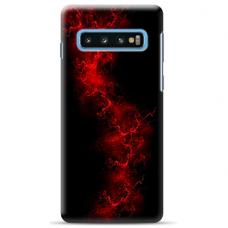 "Samsung Galaxy S10 Plus Unique Silicone Case 1.0 mm ""u-case Airskin Space 3 design"""