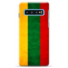 "Samsung Galaxy S10 silicone phone case with unique design 1.0 mm ""u-case Airskin Lietuva design"""