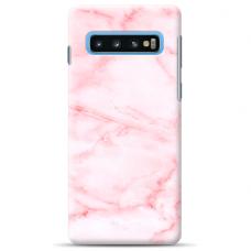 "Samsung Galaxy S10 silicone phone case with unique design 1.0 mm ""u-case Airskin Marble 5 design"""