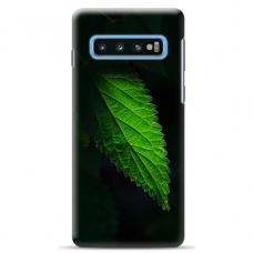 "Samsung Galaxy S10 silicone phone case with unique design 1.0 mm ""u-case Airskin Nature 1 design"""