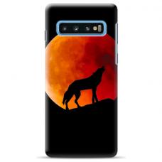 "Samsung Galaxy S10 silicone phone case with unique design 1.0 mm ""u-case Airskin Nature 3 design"""