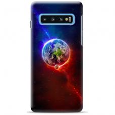 "Samsung Galaxy S10 silicone phone case with unique design 1.0 mm ""u-case Airskin Nature 4 design"""