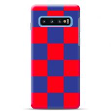 "Samsung Galaxy S10 silicone phone case with unique design 1.0 mm ""u-case Airskin Pattern 4 design"""