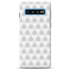 "Samsung Galaxy S10 silicone phone case with unique design 1.0 mm ""u-case Airskin Pattern 5 design"""