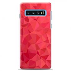 "Samsung Galaxy S10 silicone phone case with unique design 1.0 mm ""u-case Airskin Pattern 6 design"""